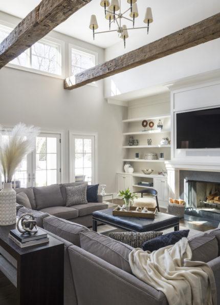 Cosy Coastal Living Room
