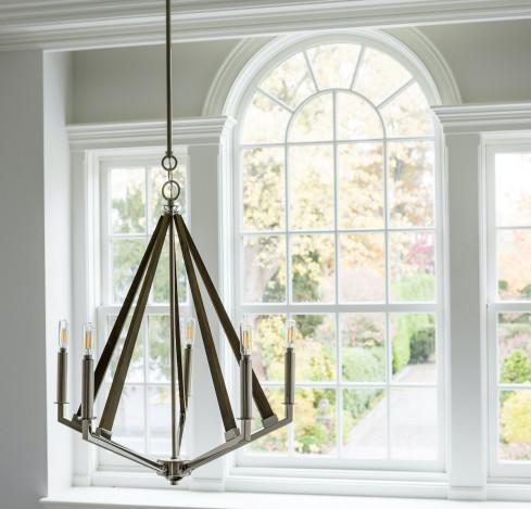 foyer-chandelier-metal-art