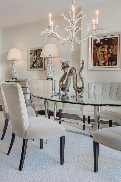 glass-dining-table-chandelier-formal-dining