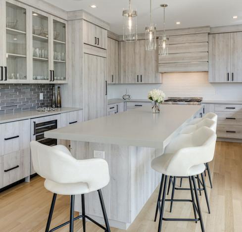 kitchen-island-bar-stools-wood-cabinets-interior-design