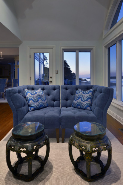 chairs-loveseat-couch-blue