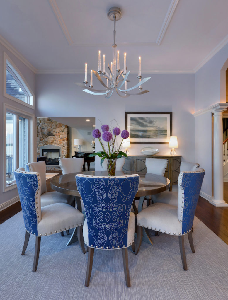 Dining Table Softscape Interior Design Elements
