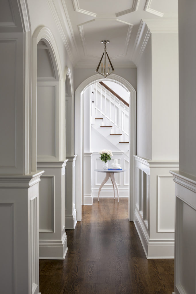 Manhasset Ny Hardscape Hallway Interior Design Katharine Jessica